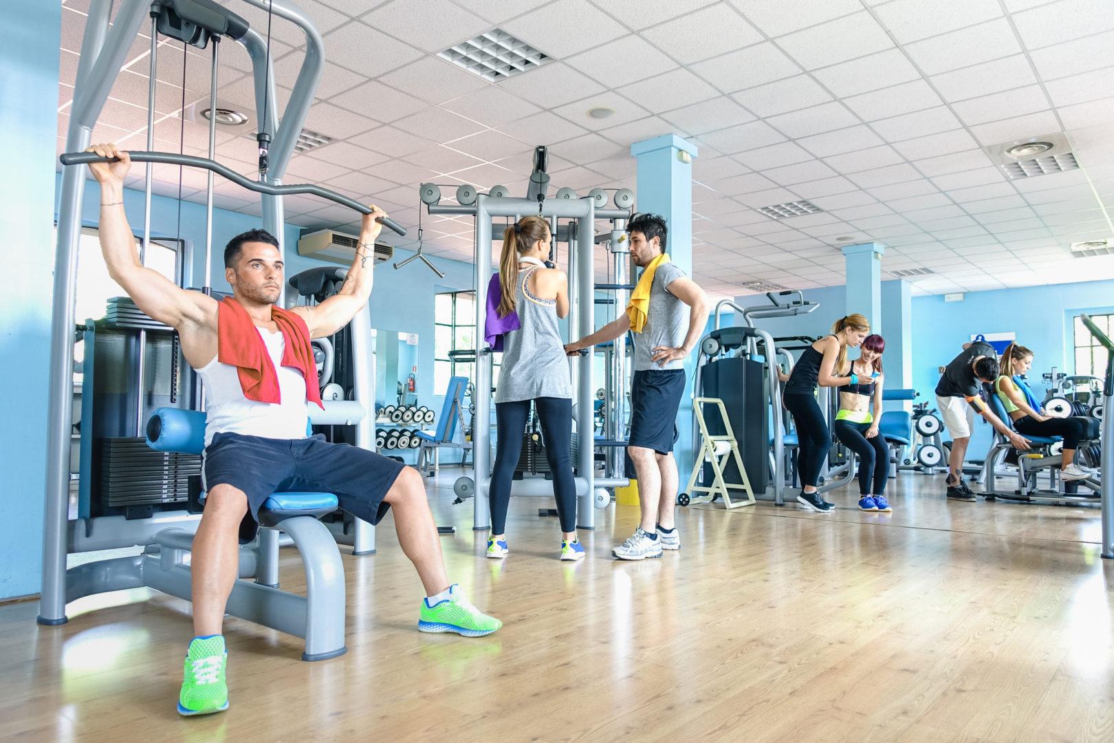 Das Fitnessstudio ist nur eine Möglichkeit um im Winter zu trainieren
