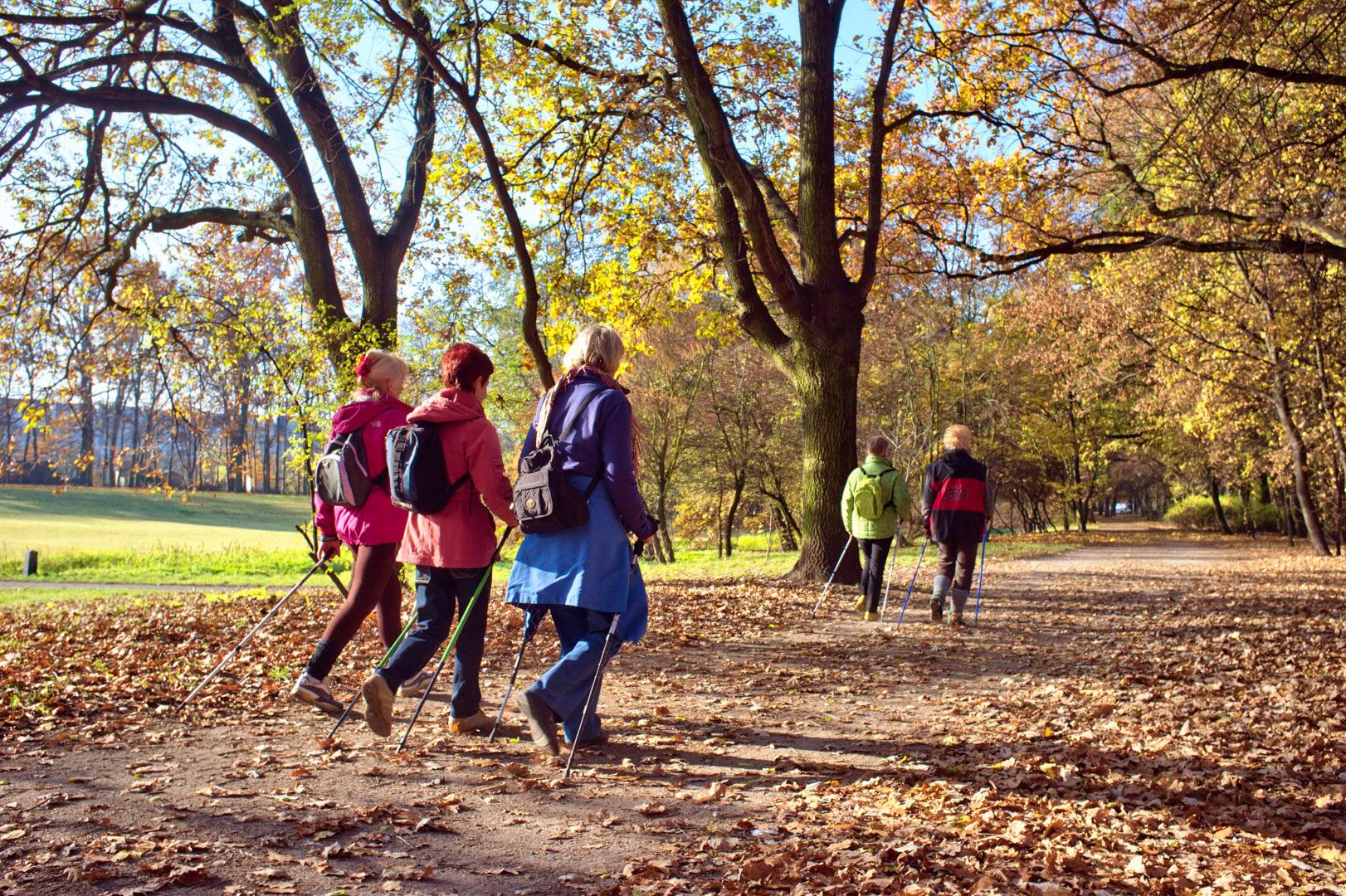 Nordic Walking ist definitiv nicht nur was für Rentner*innen.
