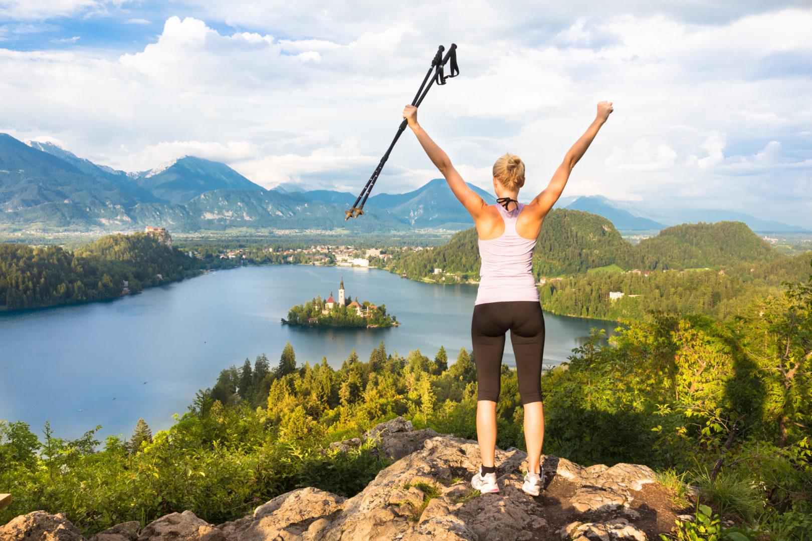 Werde zum Nordic-Walking-Profi