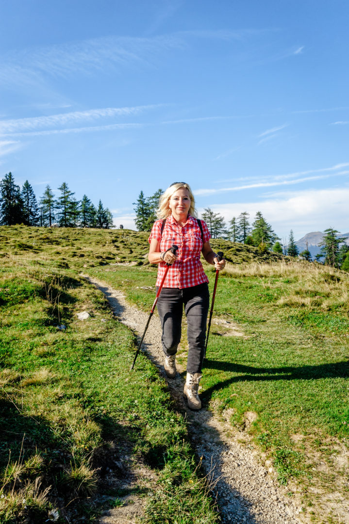 Nordic Walking ist nicht Spazierengehen