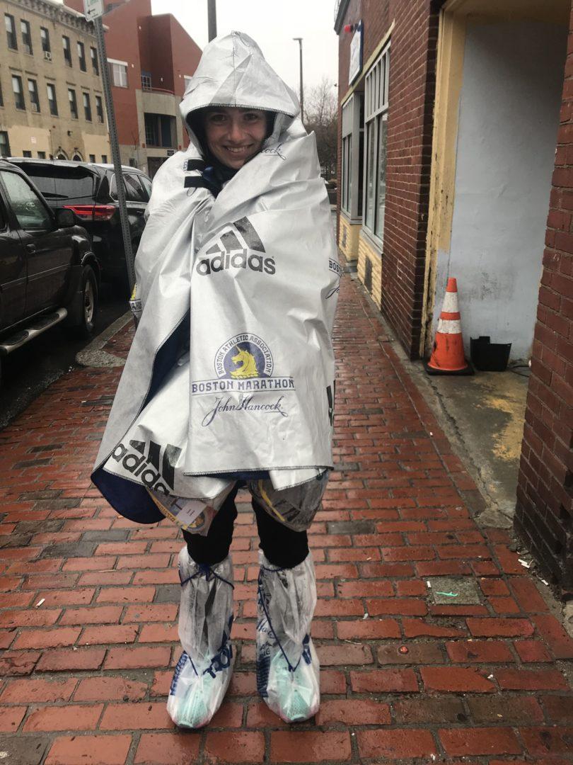 Redakteurin Susi war beim Boston Marathon