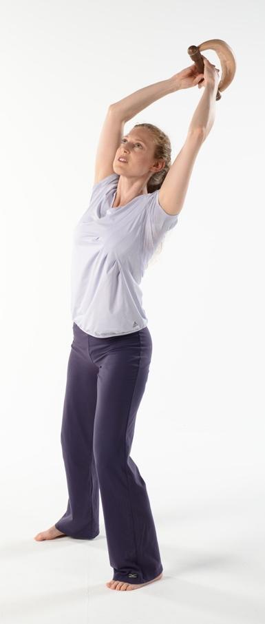 Faszientraining Übung Rebound Elasticity Schwert