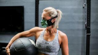 McDavid: Atmungsaktiver Mundschutz ideal für den Sport